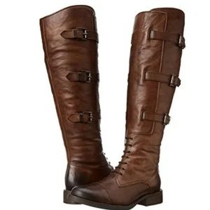 Vince Camuto Fenton Russet Brown Leather Boots